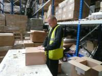 Anglia praca pakowanie kosmetyków na magazynie Northampton/Wellingborough