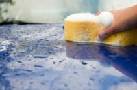 Anglia praca fizyczna przy sprzątaniu samochodów na myjni Grimsby