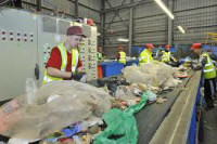 Anglia praca fizyczna w Londynie na produkcji sortowanie śmieci od zaraz
