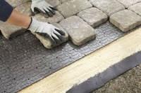 Praca w Anglii na budowie dla Polaków przy układaniu kostki brukowej