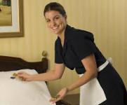 Pokojówka Anglia praca dla kobiet przy sprzątaniu bez języka Hotel Londyn