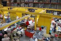 Anglia praca fizyczna sortowanie odzieży używanej bez języka Birmingham