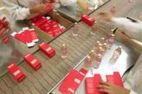 Dam pracę w Anglii na produkcji perfum z podstawowym językiem Londyn