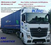 Dam pracę w Anglii jako kierowca kat. CE kontenery w Purfleet UK