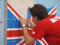 Evesham Anglia praca na budowie przy wykończeniach kuchni-łazienek