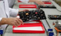 Bez języka dla par dam pracę w Anglii przy pakowaniu czekoladek od zaraz Luton UK