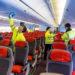 sprzatanie samolotu praca Anglia 2020