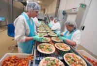Od zaraz Anglia praca na produkcji pizzy bez znajomości języka dla par w Birmingham
