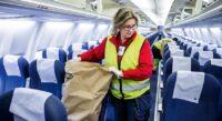 Od zaraz Anglia praca przy sprzątaniu i dezynfekcji samolotów na lotnisku w Londynie