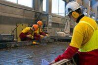 Anglia paca w budownictwie dla betoniarzy bez języka przy prefabrykatach, Peterborough